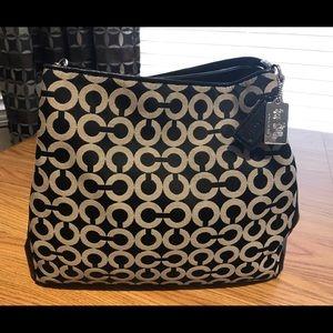 Coach Signature Madison Optic Phoebe Shoulder Bag
